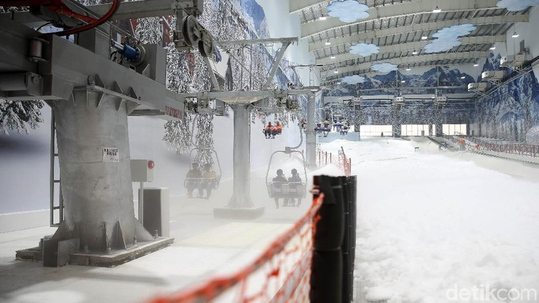 Trans Snow World Juanda di Bekasi (Rachman/detikcom)