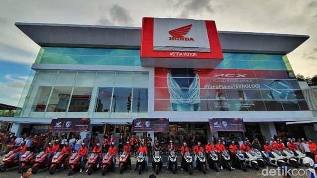 Hore! Pemain PSM Makassar Diberi 30 Motor Honda