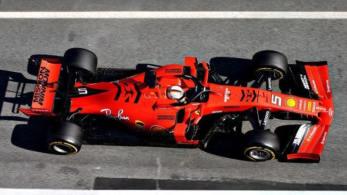 Ferrari ingin pakai Mission Winnow di balapan Bahrain pekan depan (Charles Coates/Getty Images)