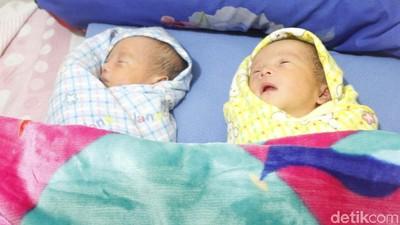 Cerita Bayi Kembar Identik yang Diberi Nama Prabowo-Sandiaga