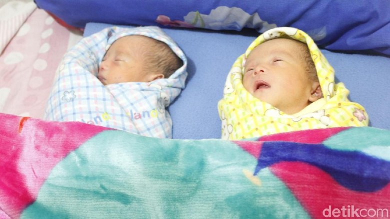 Bayi Kembar di Bandung Barat Dinamai Prabowo-Sandiaga