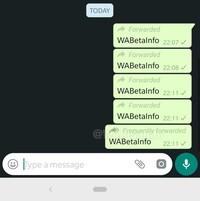 whatsapp forward info