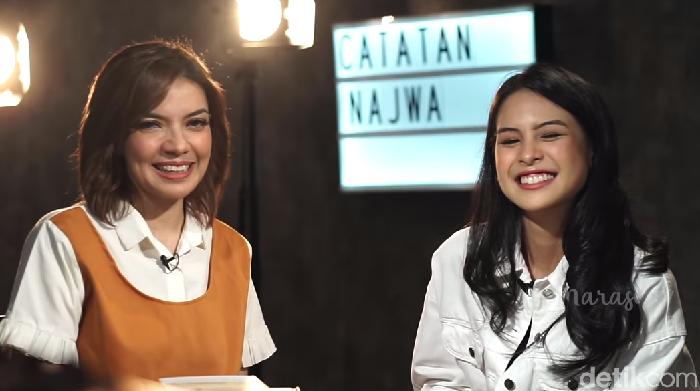 Pengakuan Maudy Ayunda dan Najwa Shihab yang senang ujian. Foto: Screenshot YouTube Najwa Shihab