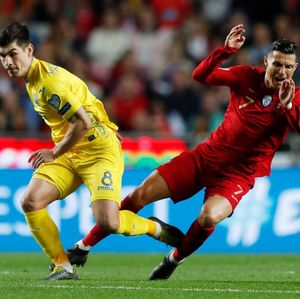 Kualifikasi Piala Eropa: Ronaldo Kembali, Portugal Diimbangi Ukraina 0-0