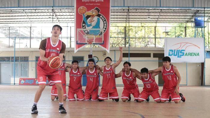 Tim Streetball Indonesia sedang berlatih untuk hadapi turnamen di Filipina (dok.LA Streetball)