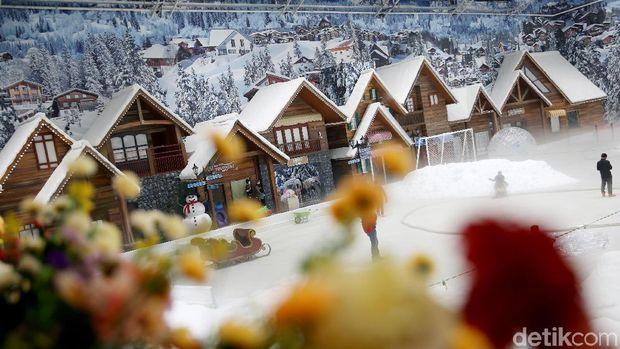 3 Spot Foto Instagramable di Trans Snow World Bekasi