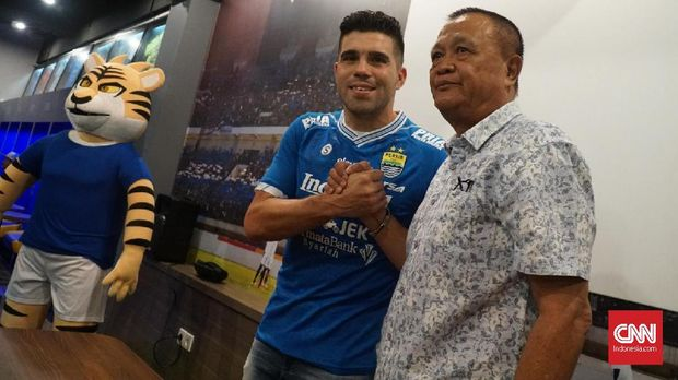Fabiano Beltrame Resmi Bergabung ke Persib Bandung