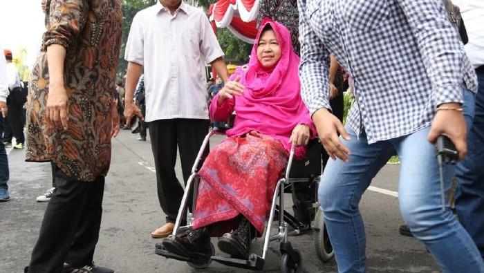 Walikota Surabaya Tri Rismaharini (Foto: Dok. Hilda Meilisa Rinanda/Detikcom)