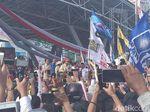 Ditemani Erwin Aksa, Prabowo Subianto Kampanye Akbar di Makassar