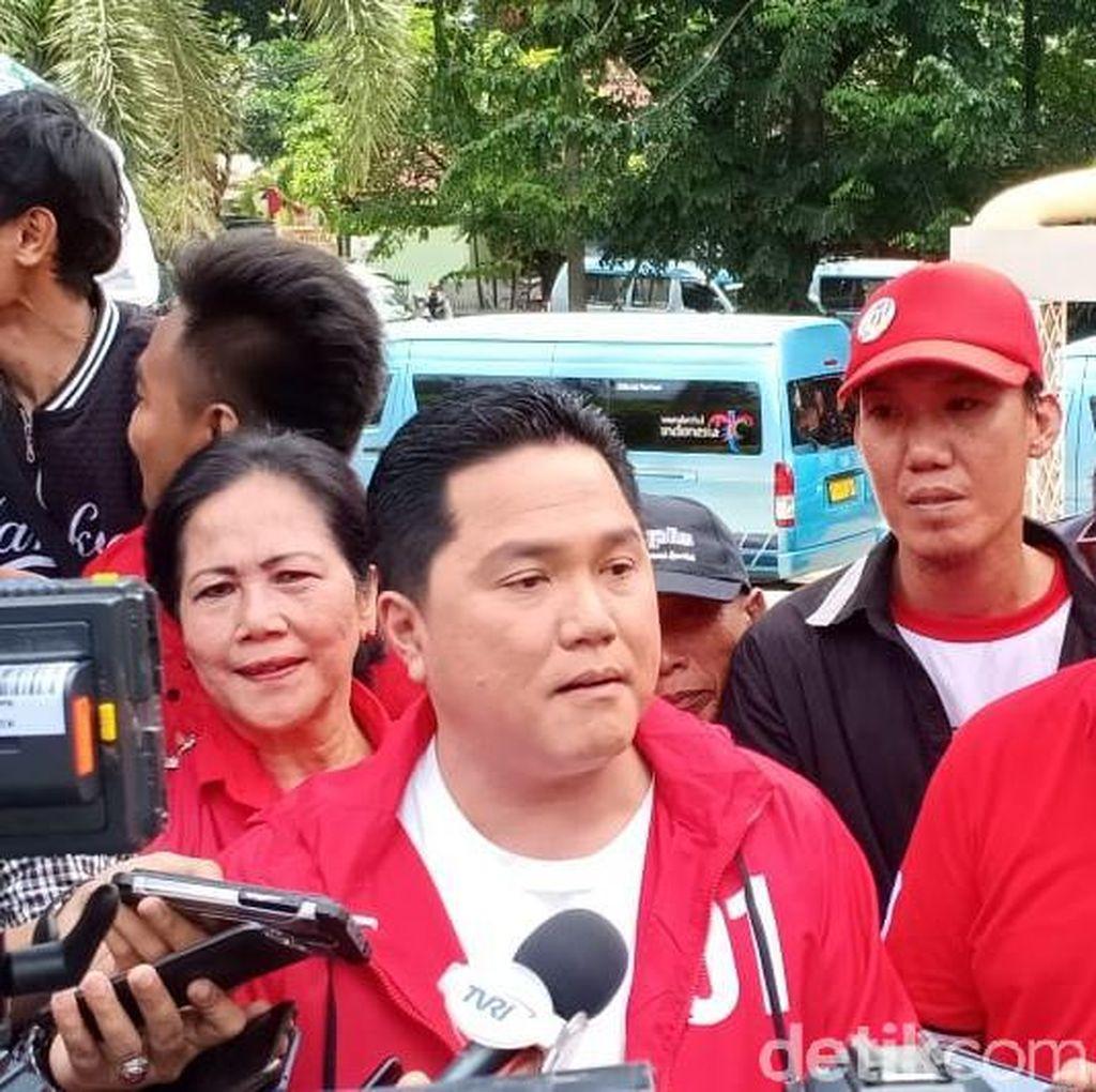 Erick Thohir Arahkan Massa PDIP Hadiri Kampanye Terbuka Jokowi-Amin di Serang