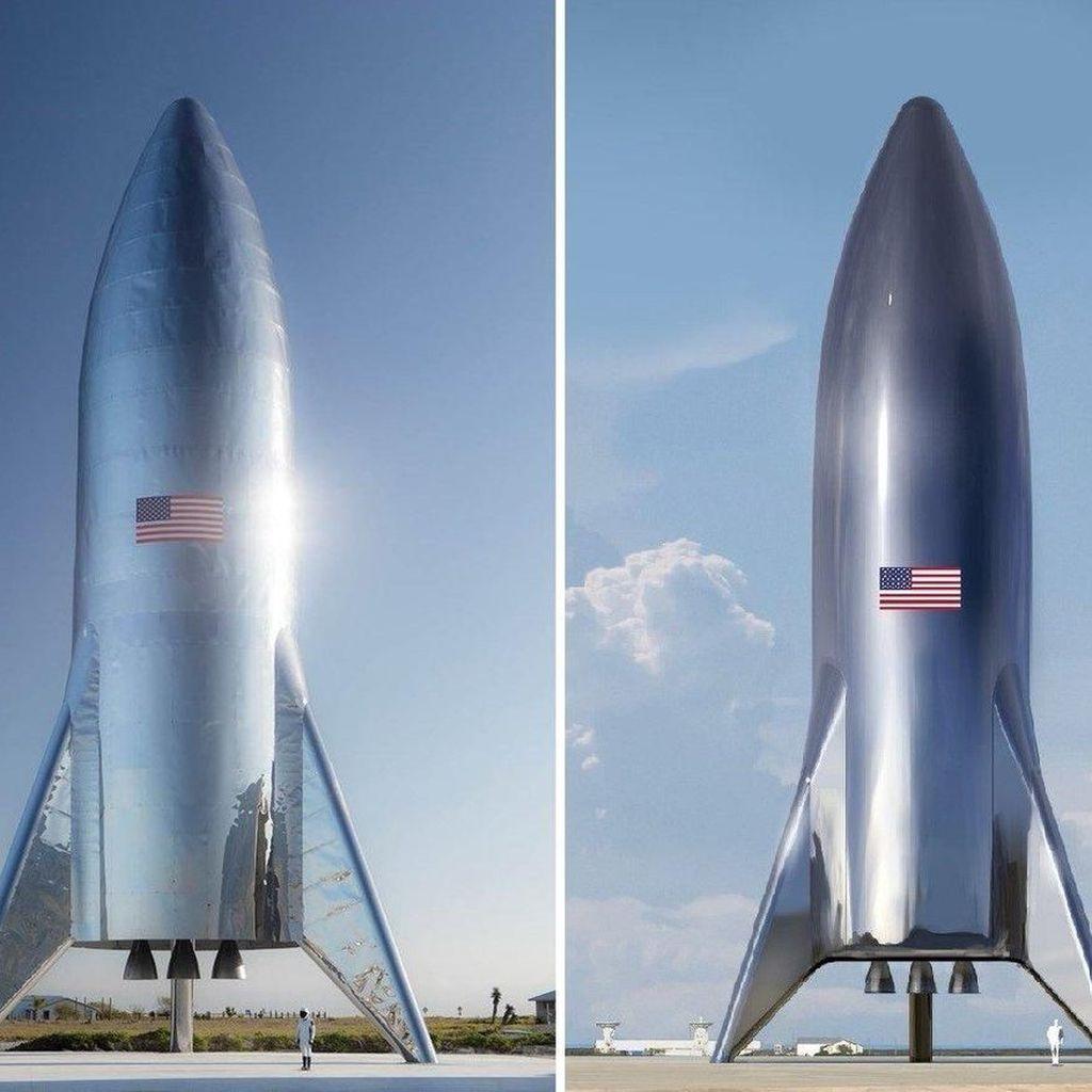 Roket Penjelajah Mars SpaceX Siap Meluncur Perdana