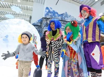 Pujian Pengunjung Usai Main Salju di Trans Snow World Bekasi