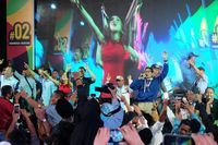 Bawakan 'Selow', Duet Cita Citata-Sandi Bikin Milenial Sragen Bergoyang