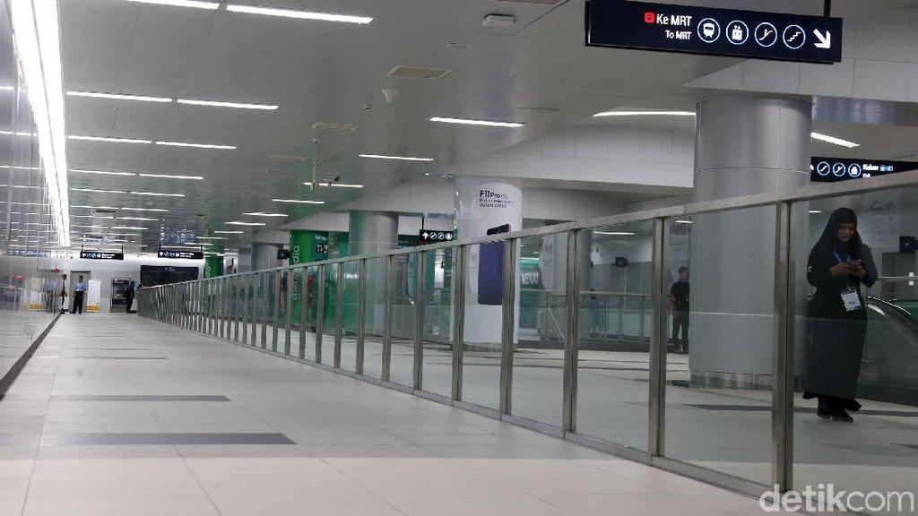Minim Tong Sampah di Stasiun MRT Jakarta, Ini Alasannya