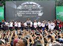 Momen Peresmian MRT Pertama di Indonesia
