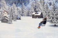Ridwan Kamil Promosi Trans Snow World, Tempat Main Salju di Bekasi