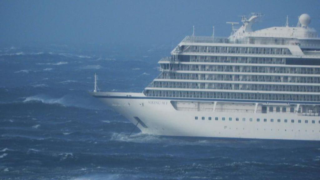 Kapal Pesiar Mogok di Perairan Norwegia