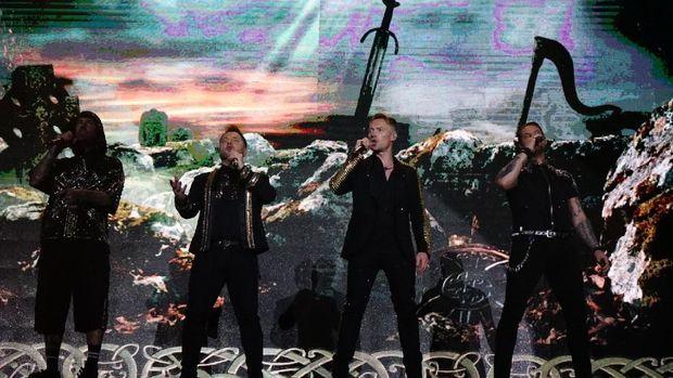 Konser Boyzone di Jakarta