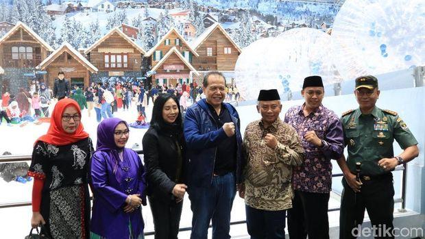 Trans Snow World Diresmikan, Walikota Berharap Banyak Turis ke Bekasi