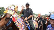 Meriahnya Atraksi 300 Kuda Renggong di Hardfest#3 Pesona Jatigede