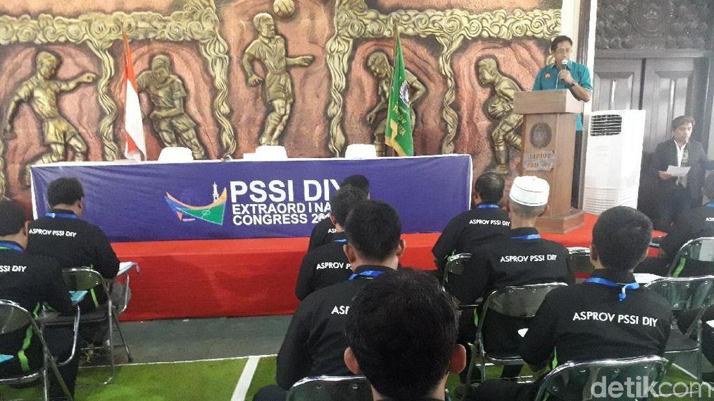 Asprov PSSI DIY Gelar KLB: Cuma Ada 1 Calon Ketua Umum