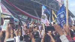Kampanye Akbar di Makassar, Prabowo Bicara Kebocoran Negara Rp 1.000 T