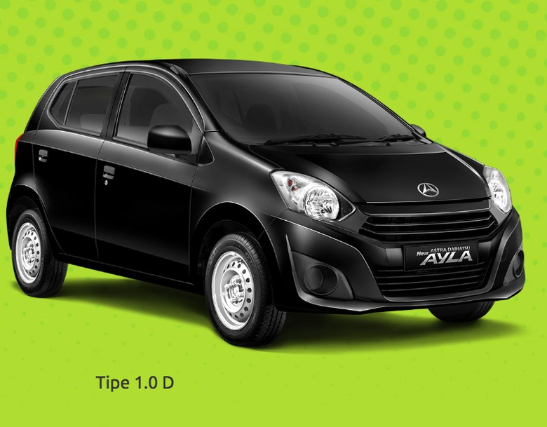 Daihatsu Ayla. Foto: PT. Astra Daihatsu Motor