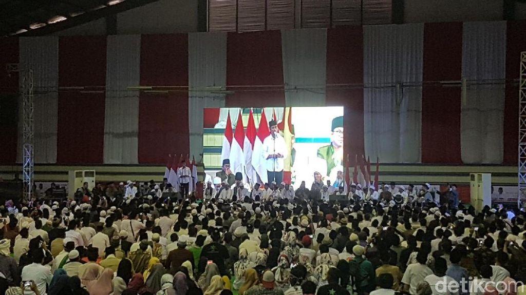 Sapa Kiai Salafi Se-Banten, Jokowi: 4 Setengah Tahun Saya Difitnah