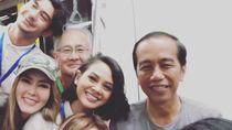 Antusiasnya Anggun hingga Reza Rahadian Ikut Peresmian MRT Bareng Jokowi