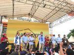 Awali Kampanye, Sandiaga: Saya Pilih Ketemu Anak Muda di Sragen