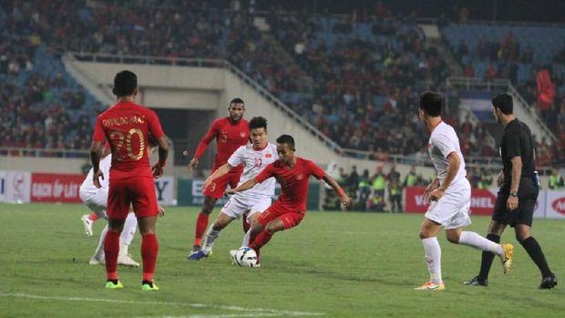 Timnas Indonesia U-23 kalah 0-1 dari Vietnam.