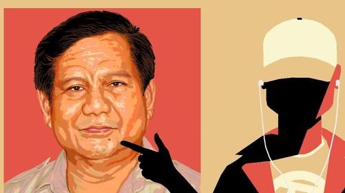Ketika Milenial Gemas Kepada Prabowo