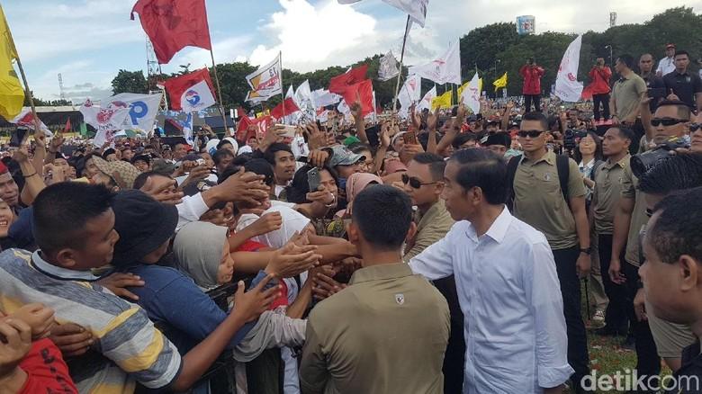 Jokowi Maksimalkan Sisa Waktu 3 Minggu Kampanye agar Menang di Banten
