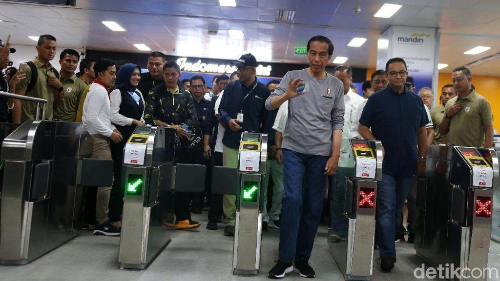 MRT telah Beroperasi, Ingat-ingat Pesan Jokowi