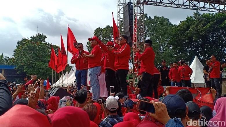 Kampanye Akbar di Banten, PDIP: Kami akan Menangkan Jokowi-Maruf!