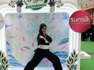Guru Olahraga Berhijab Pamer Jurus Silat di Audisi Sunsilk Hijab Hunt 2019