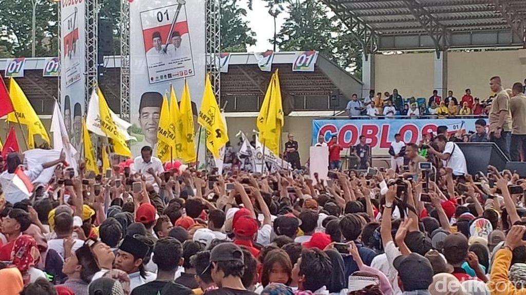 Didampingi Suharso Monoarfa, Jokowi Siap Kampanye di Serang
