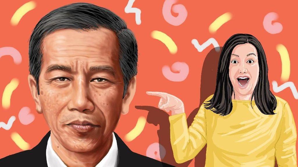 Sneakers, Chopper dan Suara Milenial untuk Jokowi