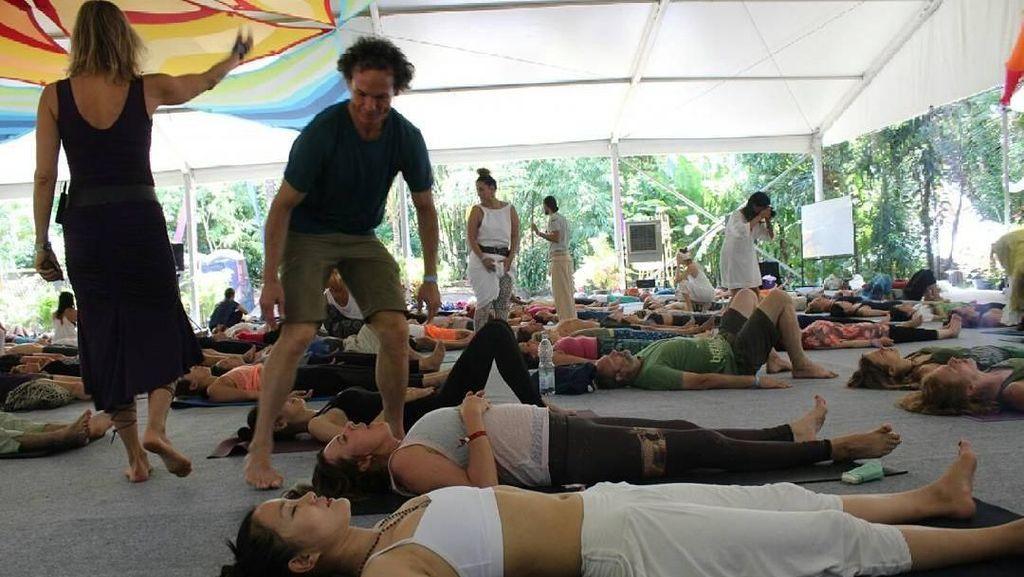 Masuk 5 Besar Dunia, Event Yoga Terbesar Dunia Digelar di Bali