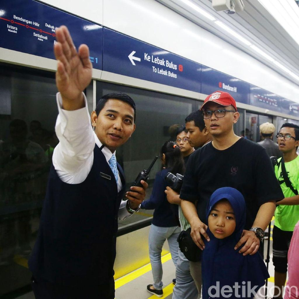 NasDem-Hanura DKI Soal Tarif MRT: Transportasi Bukan Cari Untung