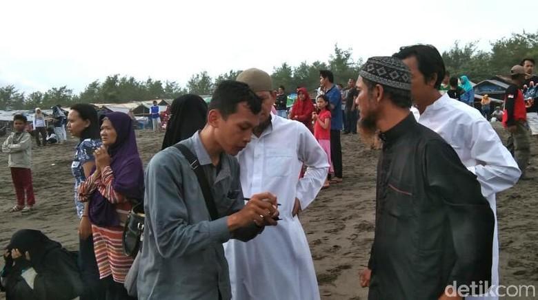 Seorang Bocah Hilang Terseret Ombak Pantai Kebumen