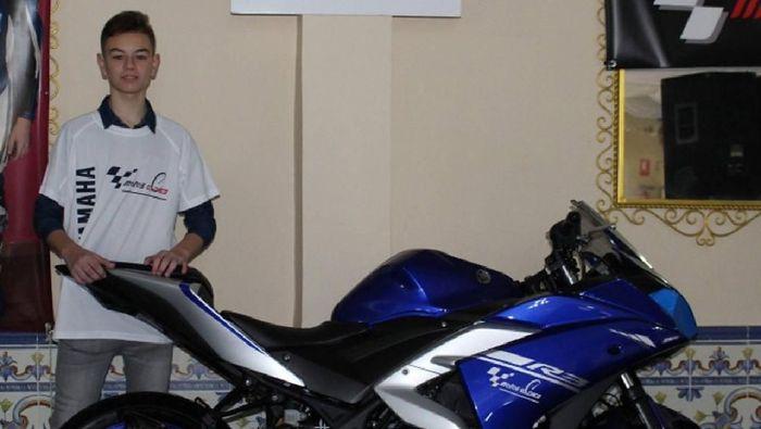 Marcos Garrido meninggal dunia sehabis mengalami kecelakaan di Sirkuit Jerez (ist.)