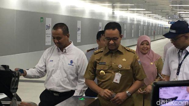 Halte TransJ Bundaran HI Kembali Beroperasi, Kini Terintegrasi MRT