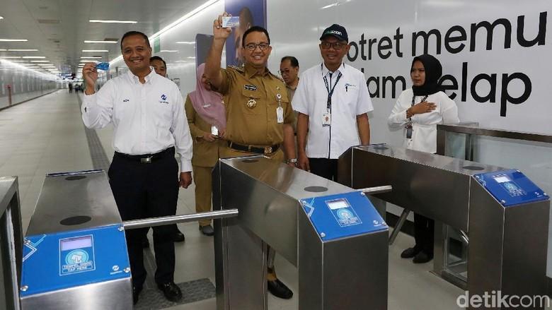 DPRD DKI Putuskan Tarif MRT Rp 8.500, Anies: Masih Fase Pembahasan