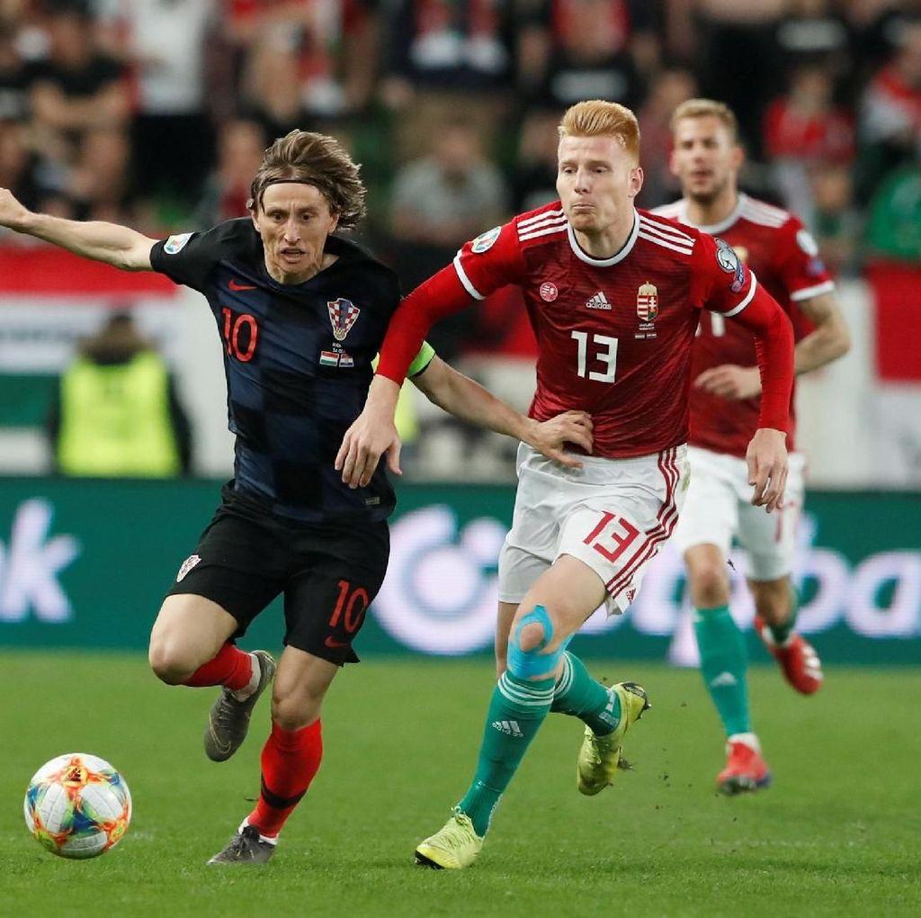 Kualifikasi Piala Eropa: Kroasia Ditumbangkan Hongaria