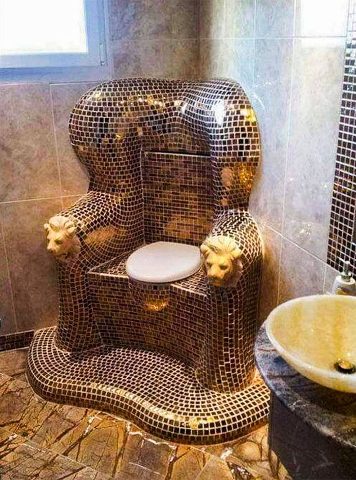 Kursi takhta yang cocok untuk si Raja Buang Air. Istimewa/Dok. Boredpanda.
