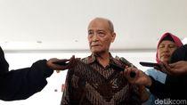 Kata Buya Syafii tentang Dukungan Keluarga KH Ahmad Dahlan ke Prabowo