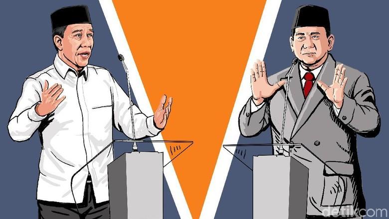 KPU Tetapkan 9 Panelis Debat Pilpres Keempat