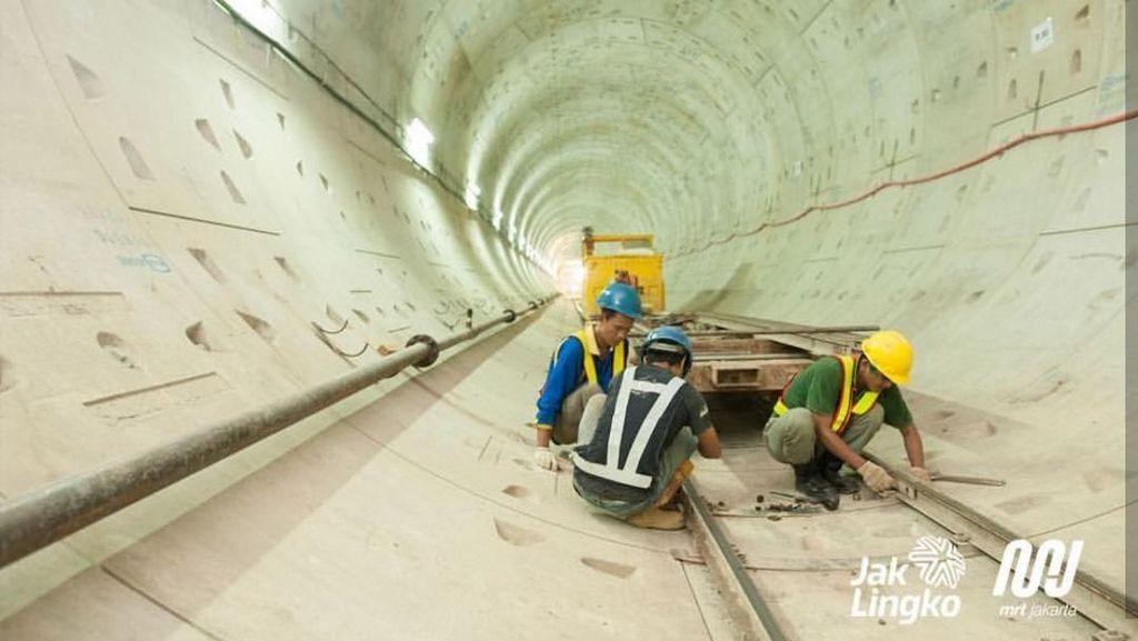 Proyek Terowongan MRT untuk Fase II Masih Dilelang