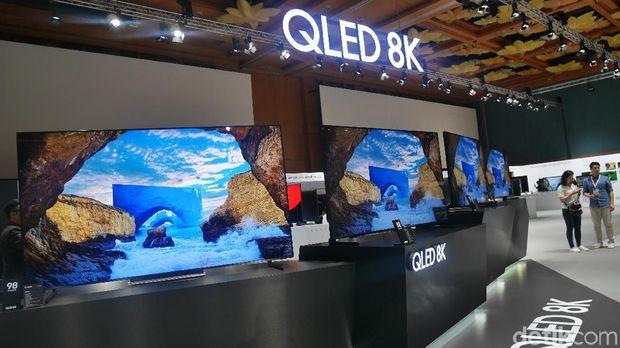 Samsung Mau Boyong TV 8K ke Indonesia, Ada yang Seharga Rp 1 Miliar